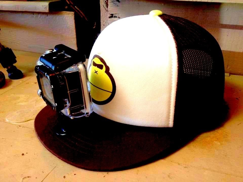Baseball Cap With GoPro